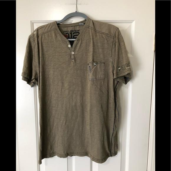 projek raw Other - Projek raw designer Henley style shirt L